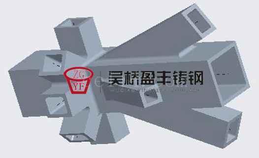 鑄鋼節點 大型鋼結構鑄鋼件 鋼結構鑄鋼連接件
