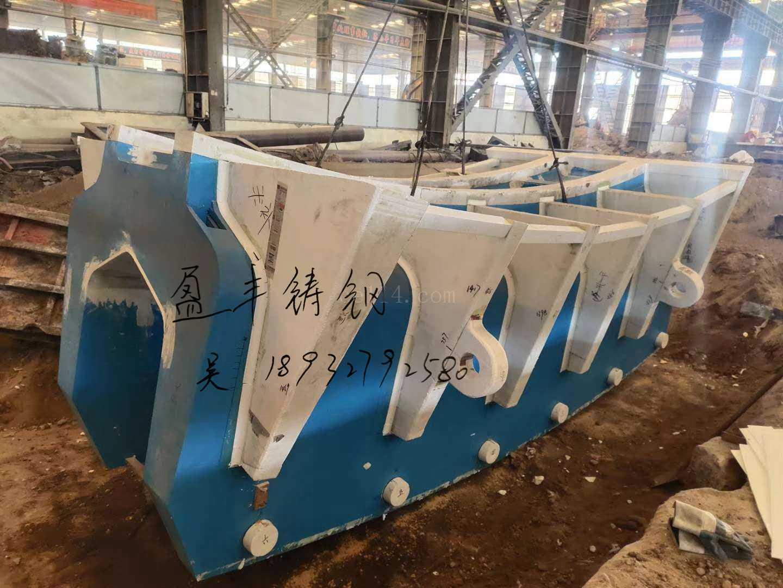 索鞍 索夾 大型懸索結構鑄鋼件 鑄鋼節點