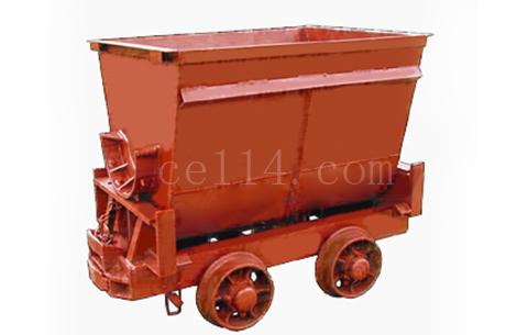 翻斗式礦車