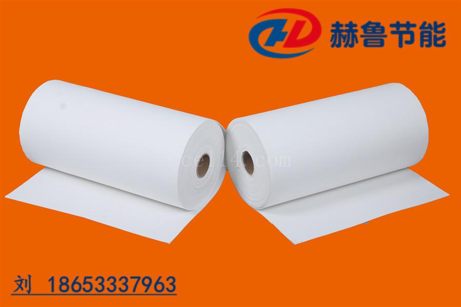 白色耐高温纸,高温隔热密封作用的白色陶瓷纤维纸