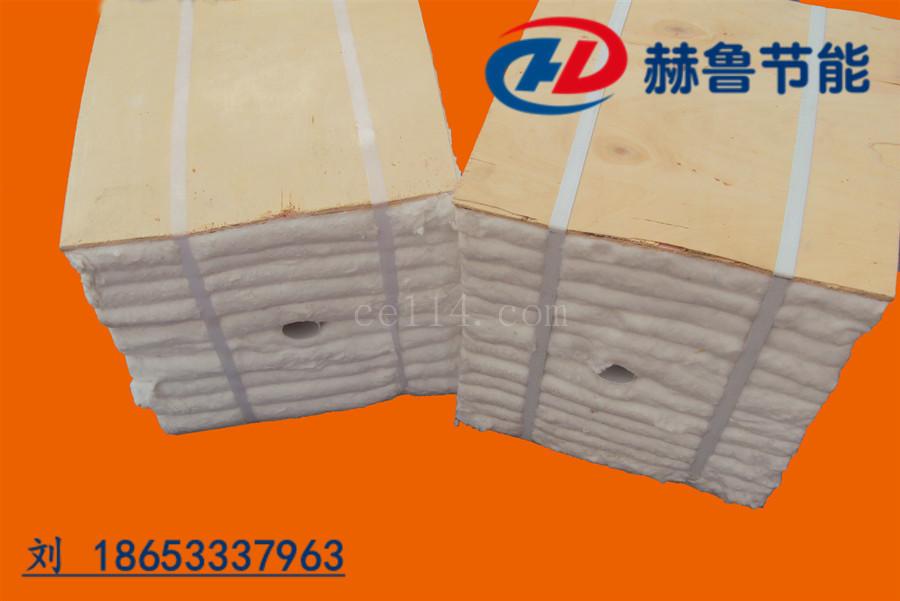紅磚隧道窯耐火棉塊隧道窯爐頂保溫棉陶瓷纖維模塊