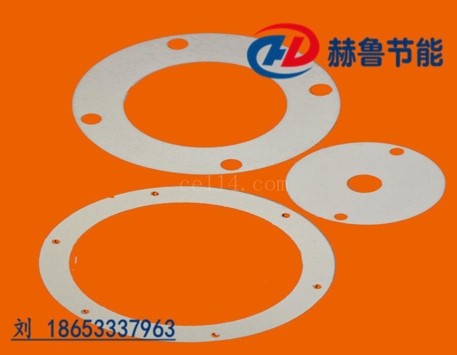 硅酸铝纤维垫圈高温隔热密封垫圈硅酸铝纤维棉垫圈