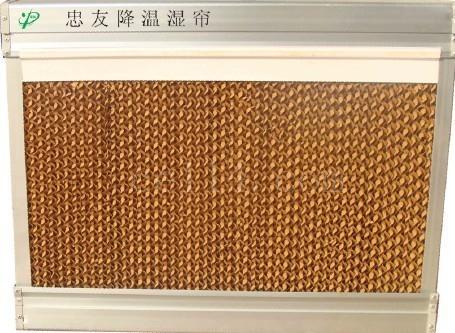 降温水帘墙