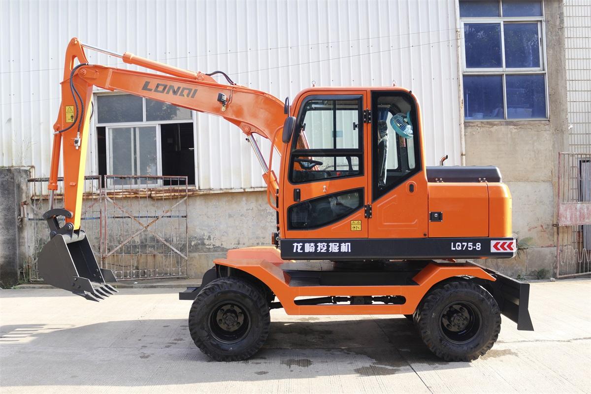 龙岩轮胎式挖掘机