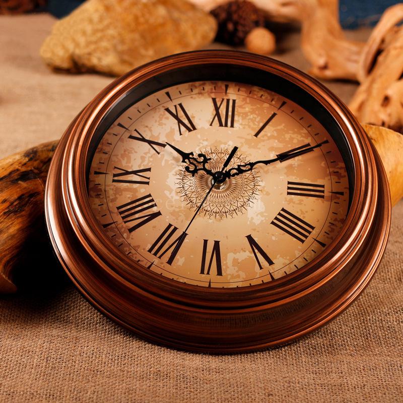 ebay复古时钟表创意壁挂钟