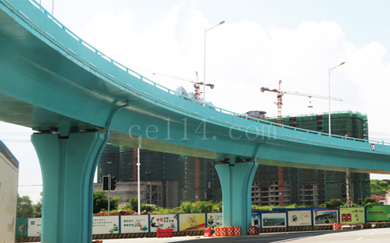 提升改造工程匝道桥