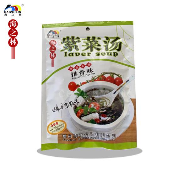 排骨味紫菜汤