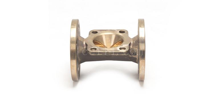 直通式隔膜阀体