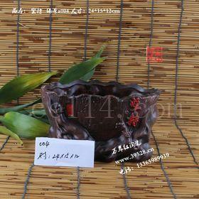 多肉红陶花盆陶瓷花盆 复古