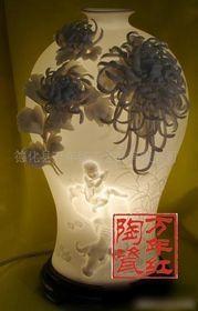 批发瓷花瓶陶瓷德化瓷花瓶