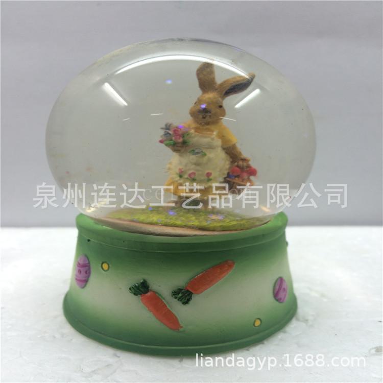 兔子媽媽樹脂工藝品創意樹脂