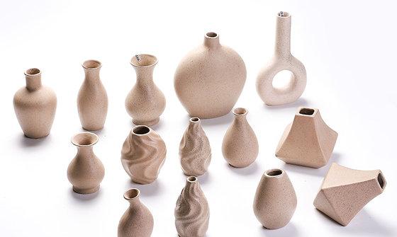 厂家直销北欧式陶瓷花瓶现代简约桌面创意花器客厅家居装饰摆件