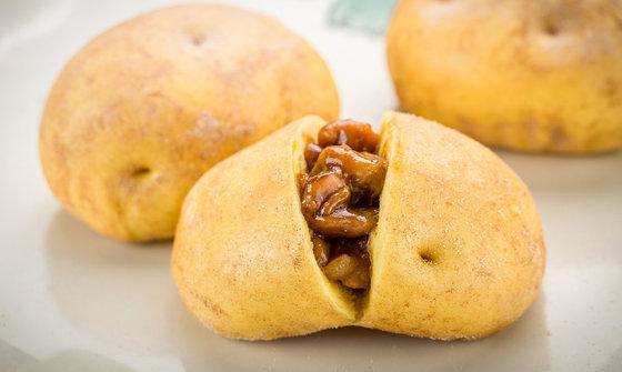 土豆包(烧肉)