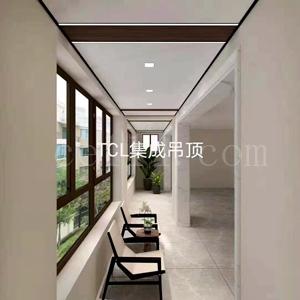 漳州南泰隆阳台TCL集成吊顶