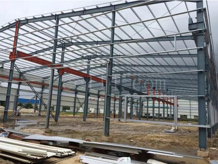 標準鋼結構廠房建設