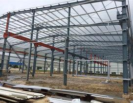 标准钢结构厂房建设