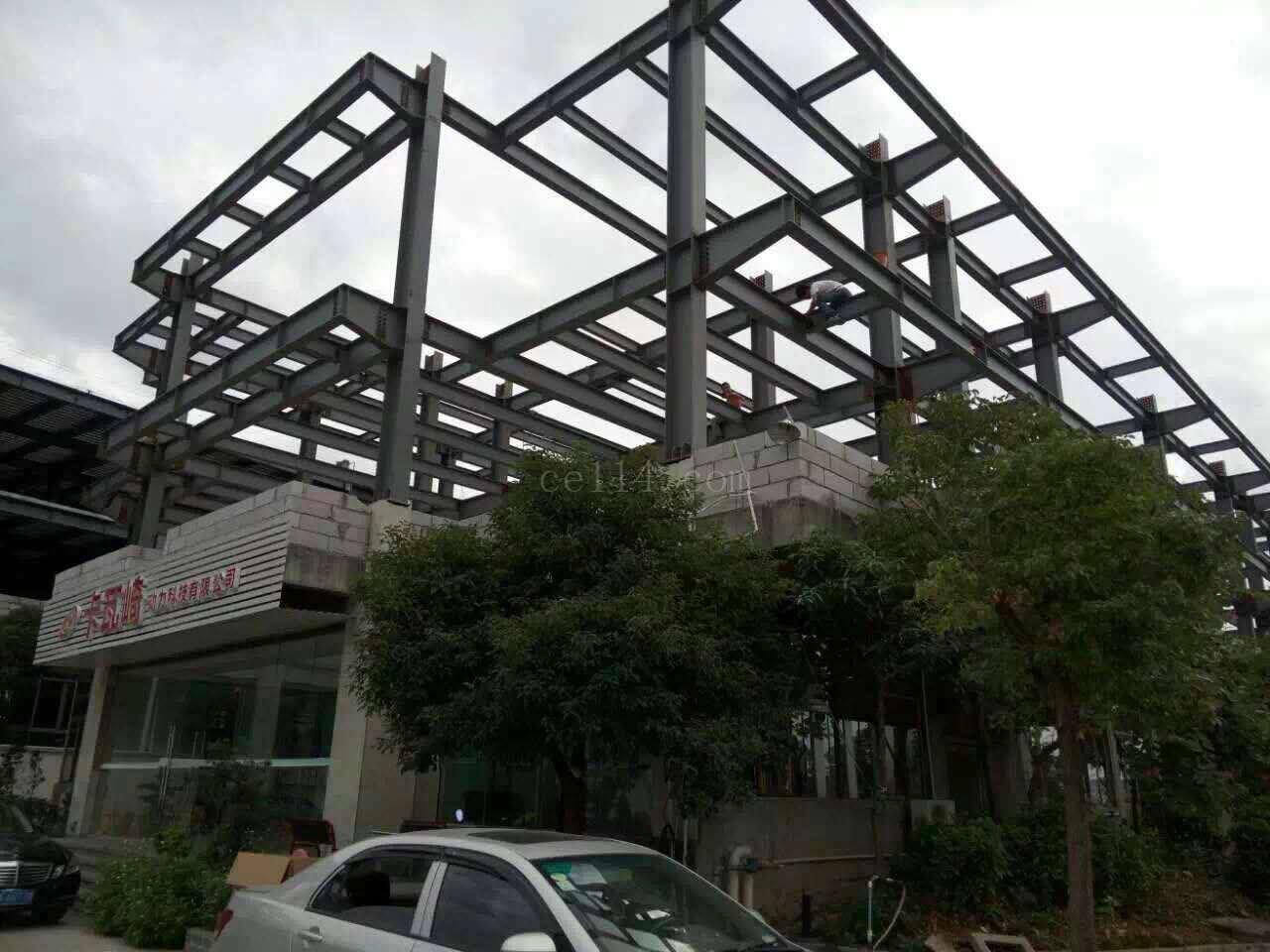 鋼結構廠房建設