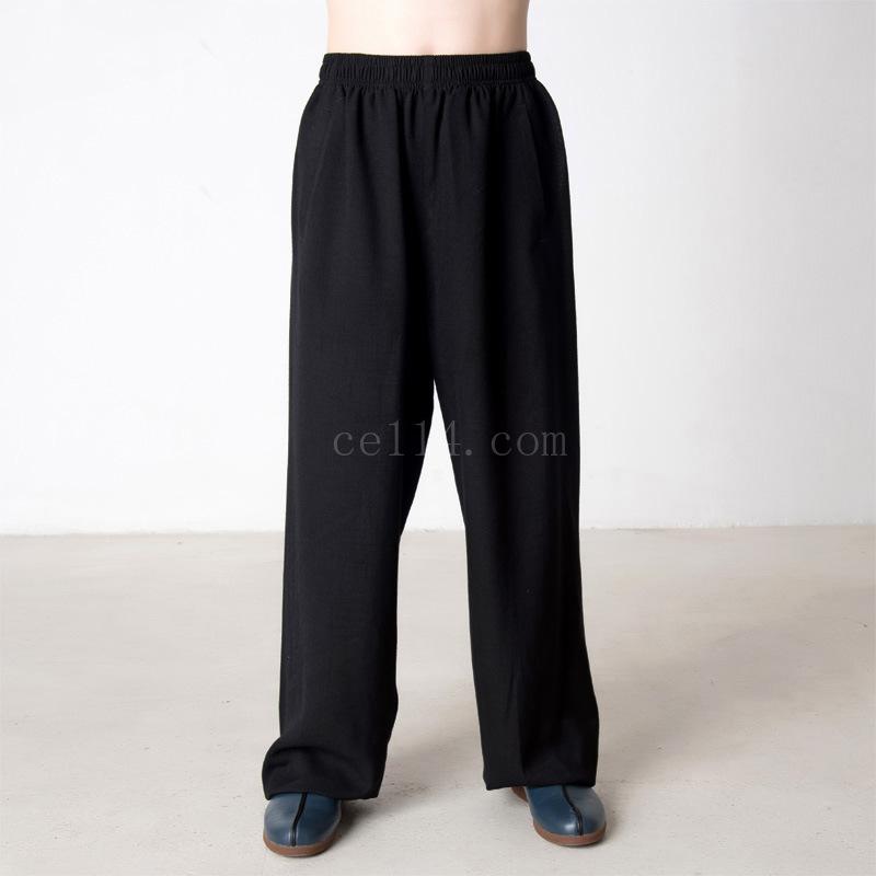 棉麻范灯笼裤太极裤