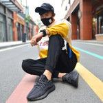 椰子之恋女鞋350v2满天星高版正品真爆男夏季透气运动休闲椰子鞋