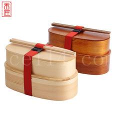 分格午餐木质饭盒
