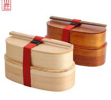 一木一匠双层日式便当盒学生分格午餐木质饭盒寿司盒子送筷子绑带 一件代发  举报 本产品支持七天无理由退货