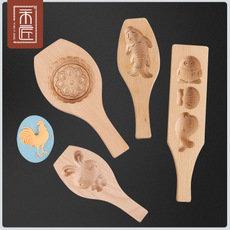 一木一匠月饼模具木质绿豆点心糕点模具家用立体冰皮烘焙工具定做 一件代发  举报 本产品支持七天无理由退货
