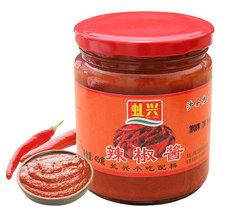 沙县辣椒酱 450g家用小吃早点蘸酱 蒜蓉辣酱 下饭调味酱 直销批发