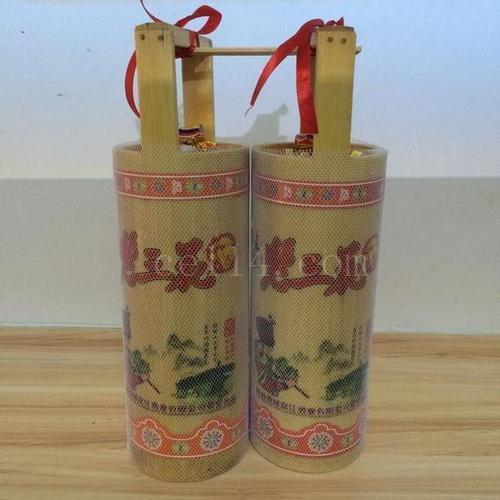土特产瑶家三花酒500ml装竹筒酒米酒