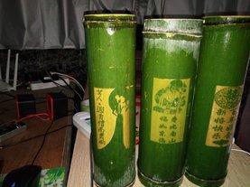 竹筒酒52度鲜竹酒雕刻定制青竹子酒500毫升礼盒装