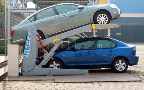液壓迷你式簡易升降機械停車設備