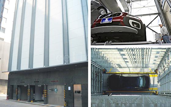垂直升降類機械式停車設備