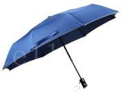 三折自开收雨伞