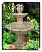 两层树脂工艺品流水喷泉