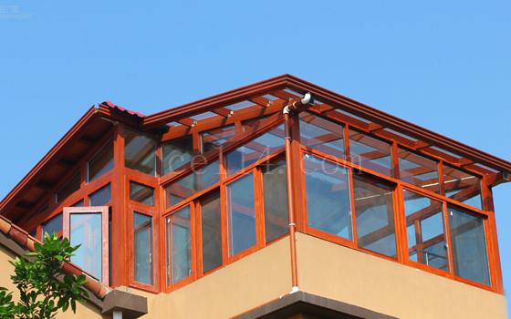 中空玻璃陽光房