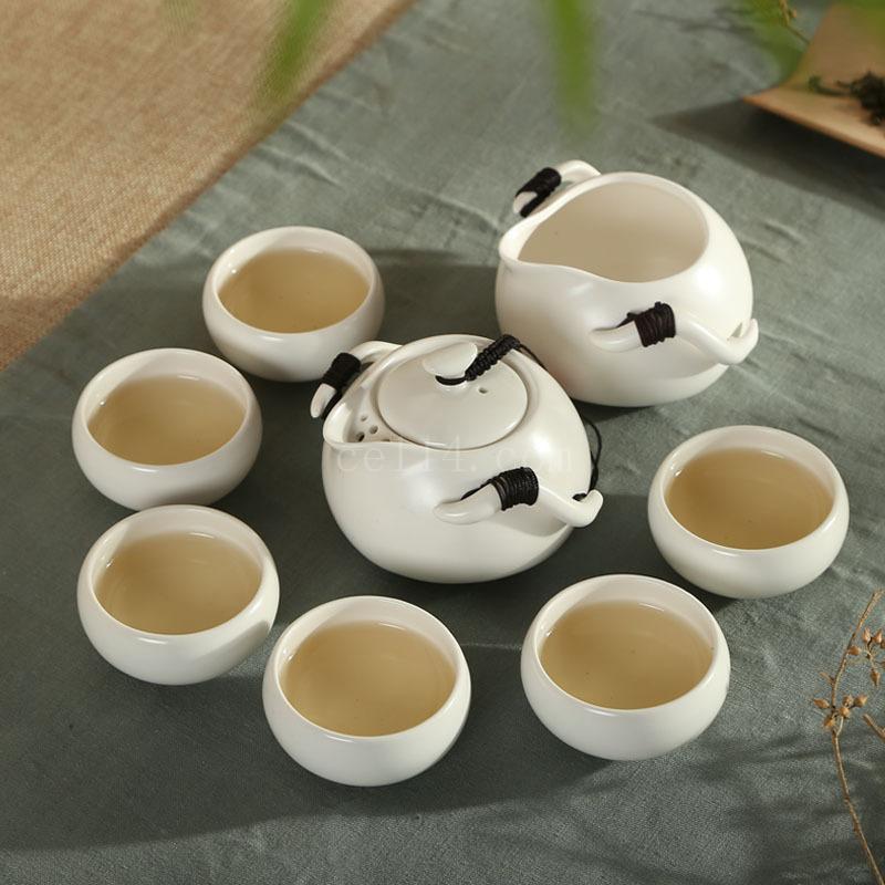 企鹅壶茶具