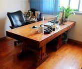 黄花梨原木大板桌