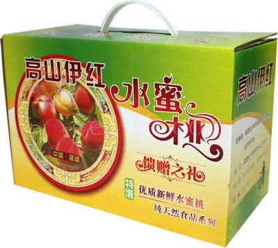 沙县水蜜桃包装箱