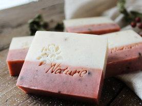 玫瑰珍珠粉手工皂