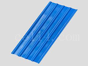 多層復合纖維瓦藍色