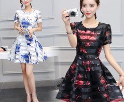 甜美风格连衣裙