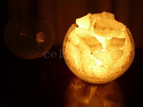 晶體石膏燈