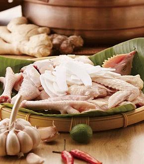野生竹荪椰子鸡