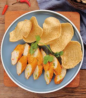 海藻虾肉卷