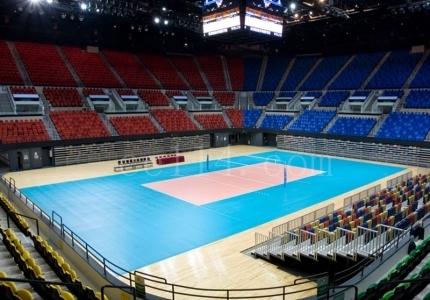 排球運動地板