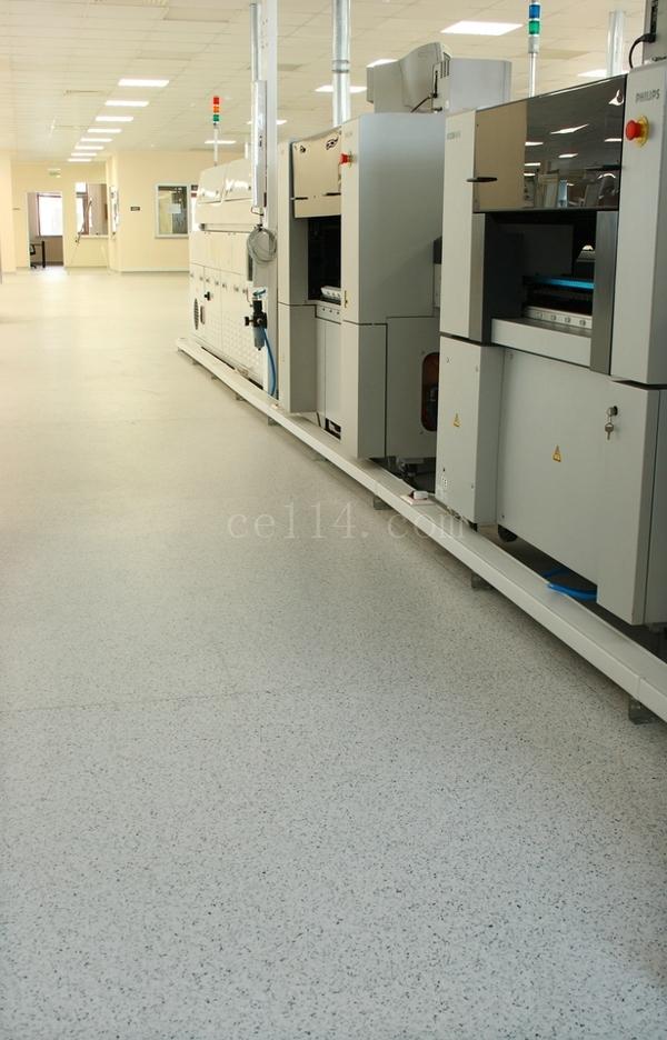 工廠塑膠地板