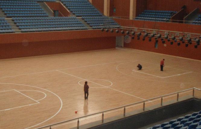 塑膠運動地板