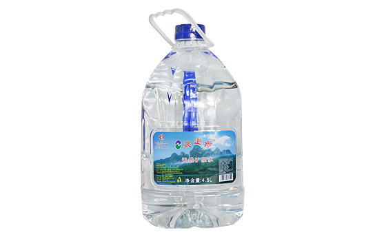 靈通巖手提式礦泉水(4.5升)