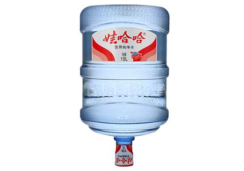 娃哈哈大桶装水纯净水
