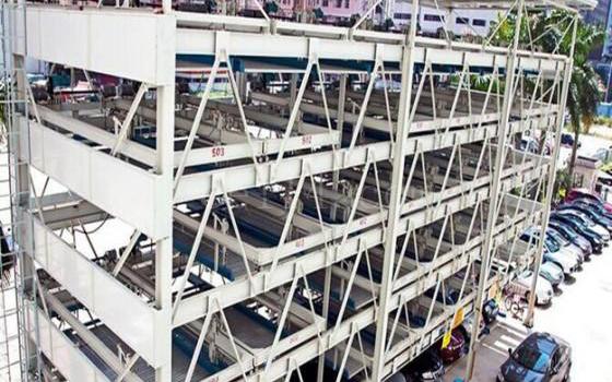 龍巖垂直升降類立體停車設備