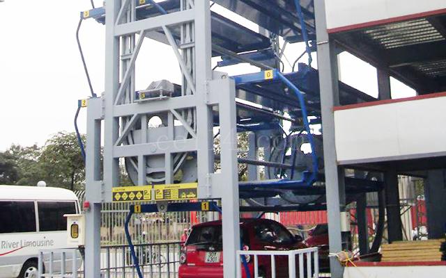 龍巖垂直循環類立體停車設備